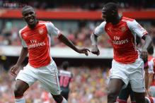 French lesson for Benfica as Yaya Sanogo hits four for Arsenal