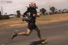 4-Minute Mile: A jetpack that allows wearers to run faster