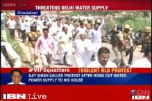 UP: RLD workers clash with police, 25 injured; defiant Ajit Singh justifies violence over bungalow