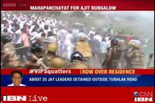 Delhi: Ajit Singh's supporters tries to enter his bungalow, 150 detained