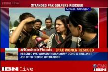 Jammu floods: 26 Pakistani women golfers stranded in the valley