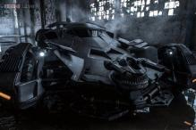 Snapshot: Director Zack Snyder shares a photo of the Batmobile from the upcoming film 'Batman vs Superman: Dawn of Justice'