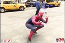 Watch: Spiderman's excitement for PM Modi's US trip