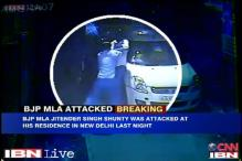 Caught on camera: BJP's Jitender Singh Shunty shot at by an unidentified man in Delhi, escapes unhurt