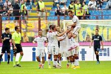 Cagliari stun Inter Milan 4-1 in Serie A