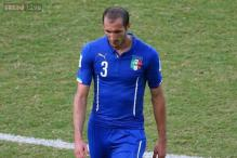 Italy defender Giorgio Chiellini to miss Norway qualifier