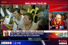Dalai Lama hopes for peace and better ties between India and China as Xi Jinping visits India
