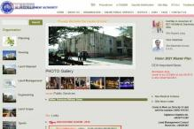 DDA website restored; over 18 lakh hits in two days