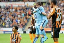 Edin Dzeko nets double as Manchester City beat Hull 4-2 in EPL
