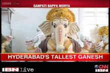 Hyderabad prepares for visarjan of country's largest Ganesha idol