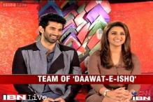 e lounge: Actors Aditya Roy Kapur and Parineeti Chopra on 'Daawat-e-Ishq'