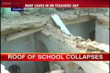 Gwalior: Government school's roof crashes ahead of PM's Teachers' Day speech