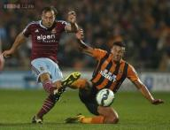 Hull City draw 2-2 with West Ham in EPL