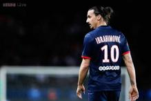 Ibrahimovic to miss PSG's match against Barcelona