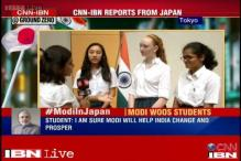 Watch: What Japanese students and fishermen have to say about Modi