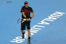 Jarkko Nieminen beats Leonardo Mayer to advance at Malaysian Open