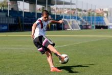 Javier Hernandez promises to give his all at Real Madrid