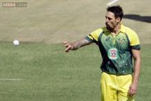 Arm break signals Mitchell Johnson's intimidating form