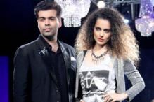 Photos: Kangana Ranaut dazzles on the  ramp for Karan Johar