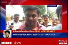 Railway Minister's son appears before police for questioning, refuses to talk about the case