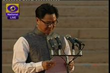 MoS Home Rijiju to attend world reconstruction meet in Washington