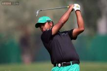 Birdie binge sends Anirban Lahiri top of the leaderboard in Malaysia
