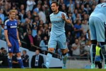 Lampard equaliser earns Manchester City 1-1 draw against Chelsea
