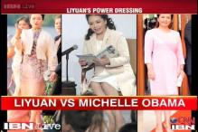 Style check: Chinese First Lady Peng Liyuan vs Michelle Obama