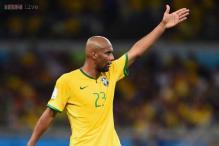Brazil's Dunga says doors still open for Maicon