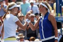 Ekaterina Makarova beats Victoria Azarenka to reach US Open semis