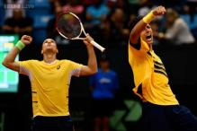 Brazil take 2-1 lead over Spain in Davis Cup