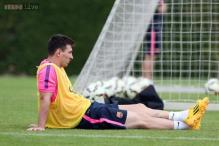 Messi, Iniesta, Vermaelen back in training with Barcelona
