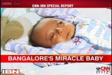 Miracle baby survives in spite of weighing half a kilogram at birth