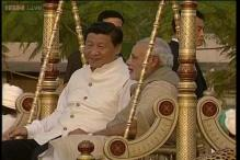 Gujarati fiesta for Chinese President Xi Jinping as Narendra Modi celebrates his birthday at home