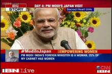 Attached to the concept and need for women empowerment, girl child education: Modi to Japan