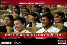 Teachers' Day: Education for girls and hygiene on priority list, says Modi