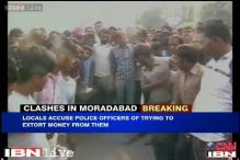 Moradabad: Police, local residents clash over alleged extortion by policemen