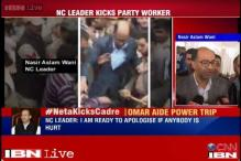 J&K: NC leader kicks party worker, PDP calls it act of desperation