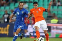 Conte tops Hiddink as Italy beat Netherlands in friendly