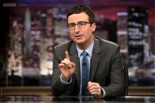John Oliver adds journalism to his comedy show 'Last Week Tonight'