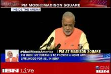 Will merge PIO and OCI schemes into one, says PM Modi at Madison Sqaure