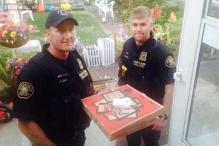 Police deliver Hawaiian pie after Pizza Hut driver hurts his neck and back in a crash