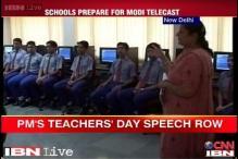Schools prepared to show PM's Teacher's Day speech