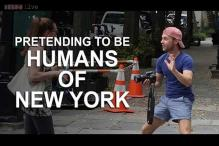 Watch: A man went around New York pretending to be from 'Humans of New York' and successfully trolled the city