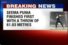 Asian Games 2014: Seema Punia wins gold in discus throw