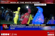 Festival-like ambience outside White House as Obama hosts dinner for Modi