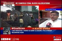 Coal scam order is in line with the government's framework, says Ravi Shankar Prasad
