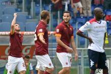 AS Roma beat Cagliari 2-0, pull level with Juventus