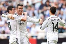 Ronaldo nets thrice as Real Madrid thrash Deportivo 8-2