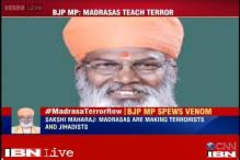 BJP distances itself from Sakshi Maharaj's 'Madrassas teach terrorism' remark